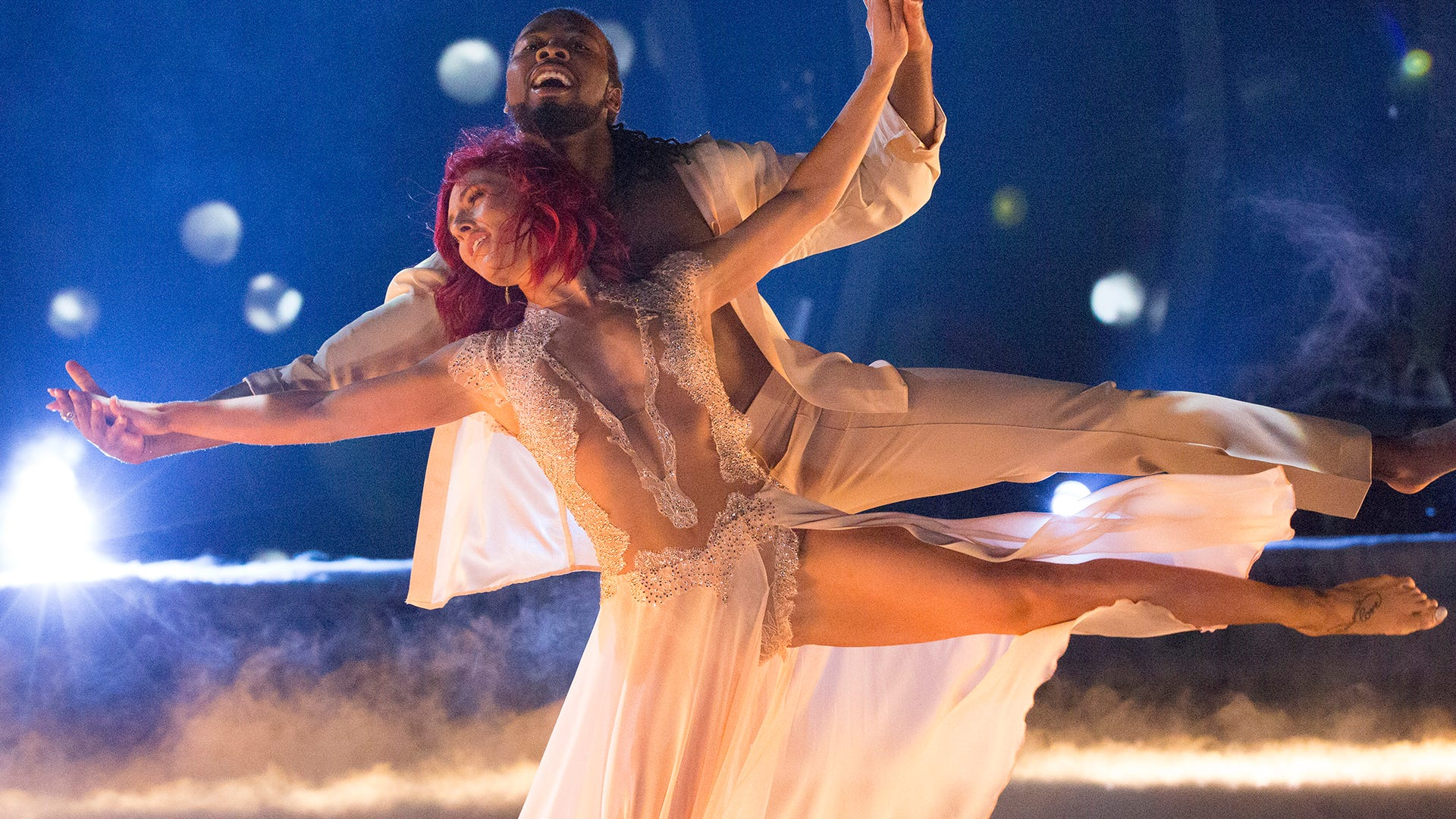 Josh Norman and Sharna Burgess, Dancing with the Stars