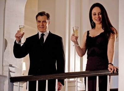 """Revenge - Season 1 - """"Legacy"""" - Henry Czerny, Madeleine Stowe"""