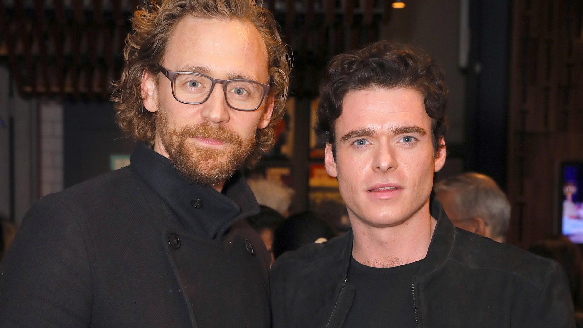 Tom Hiddleston and Richard Madden