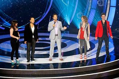 "Duets - Season 1 - ""The Superstar's Greatest Hits"" - Kelly Clarkson, John Legend, Quddus, Jennifer Nettles and Robin Thicke"