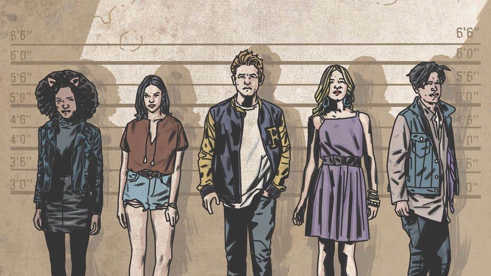 Riverdale One-Shot, art by Matthew Dow Smith