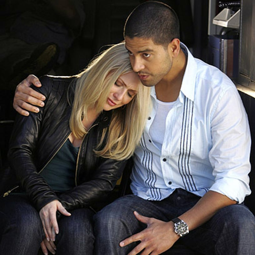 """CSI: Miami - Season 6 - """"Stand Your Ground"""" - Emily Procter as Calleigh and Adam Rodriguez as Delco"""