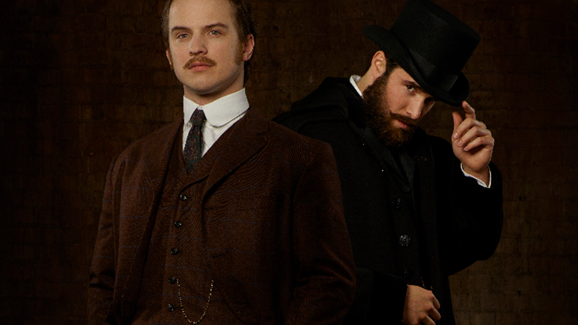 Freddie Stroma and Josh Bowman, Time After Time
