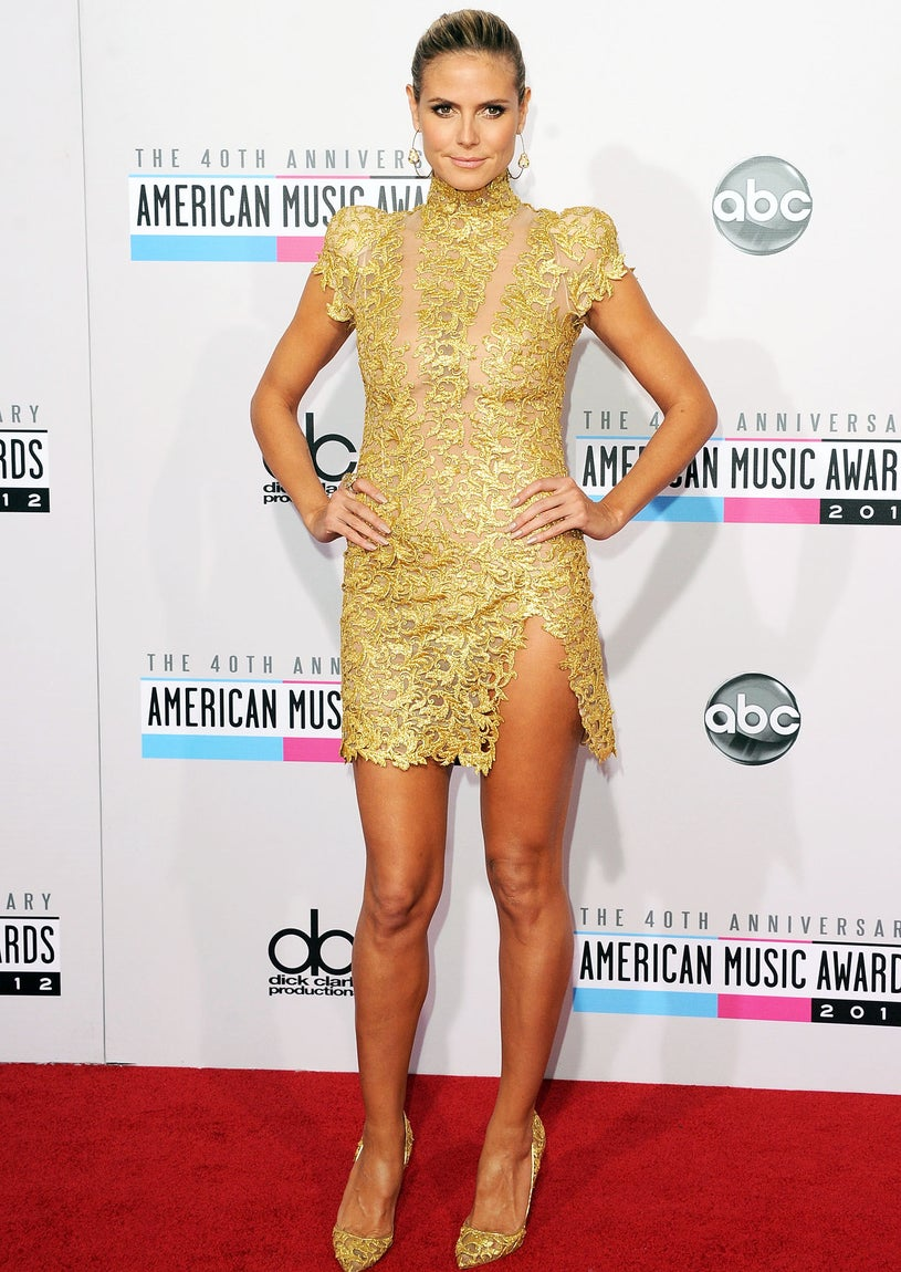 Heidi Klum - 40th American Music Awards in Los Angeles, November 18, 2012