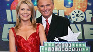Pat Sajak and Vanna White Puzzled as Wheel of Fortune Turns 25