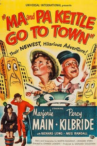 Ma and Pa Kettle Go to Town as Sheriff