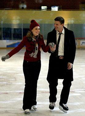 """Bones - Season 4 - """"Fire in the Ice"""" - Emily Deschanel as Brennan, David Boreanaz as Booth"""