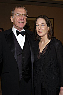 Sydney Pollack and Kathleen Kennedy - Producers Guild Awards, Jan. 2004