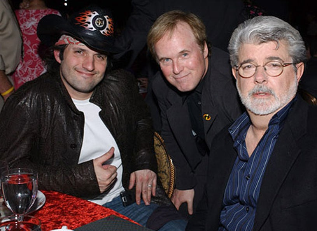 Robert Rodriguez, Brad Bird and George Lucas - ShoWest 2005 Awards Night