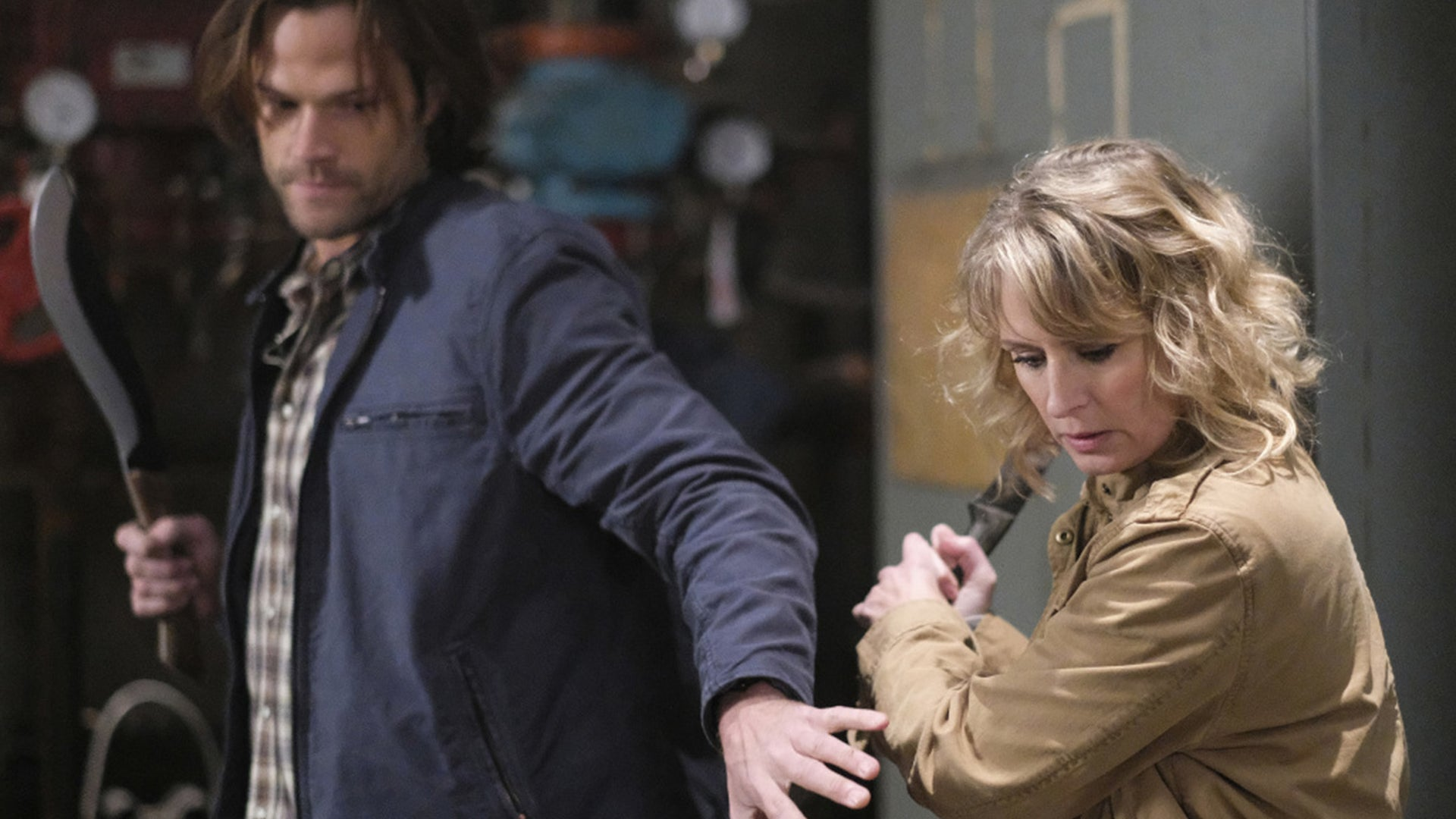 Jared Padalecki and Samantha Smith, Supernatural