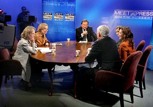 Meet the Press - Presidential Historian Doris Kearns Goodwin, Wall Street Journal Columnist Peggy Noonan, NBC News' Tim Russert, Newsweek Magazine Editor Jon Meacham, NPR's Michele Norris