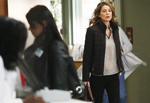 "Grey's Anatomy - Season 10 - ""Somebody That I Used to Know"" - Ellen Pompeo"