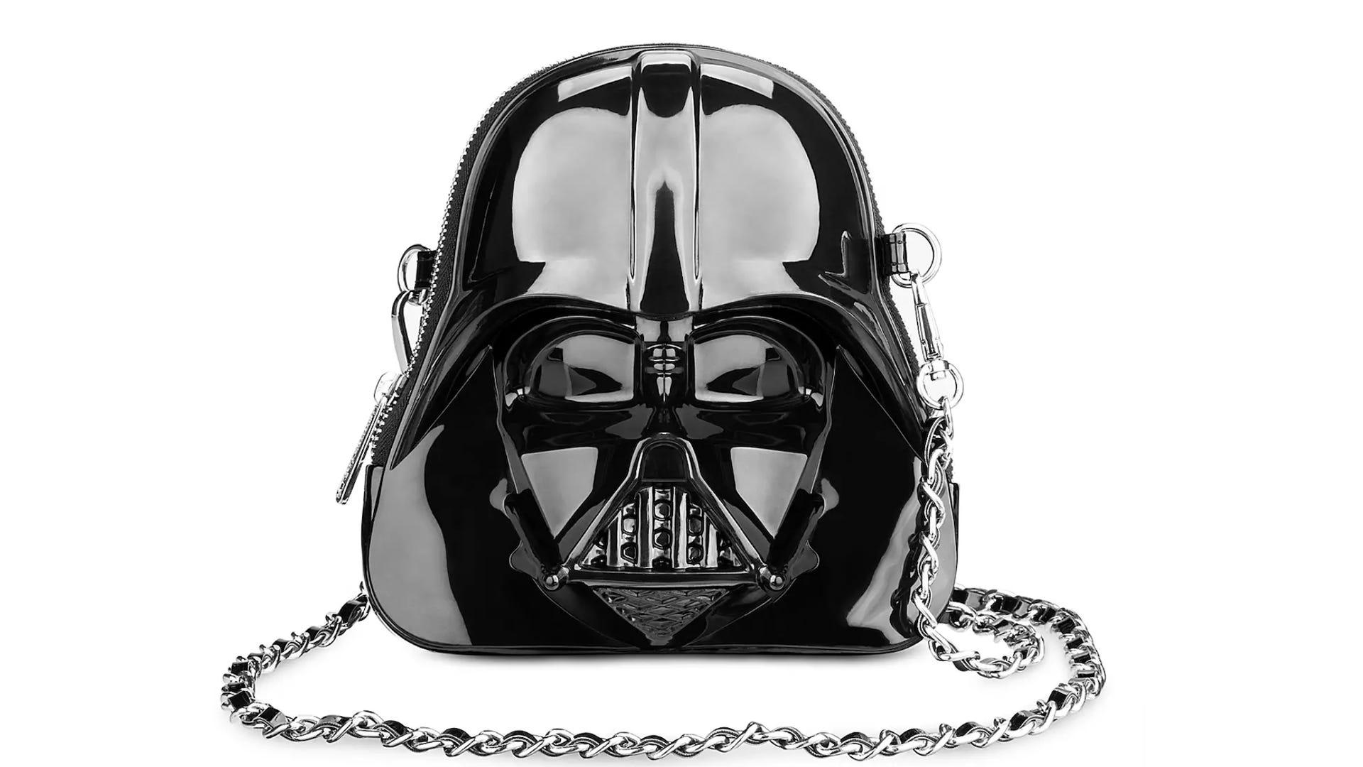 Darth Vader helmet crossbody bag