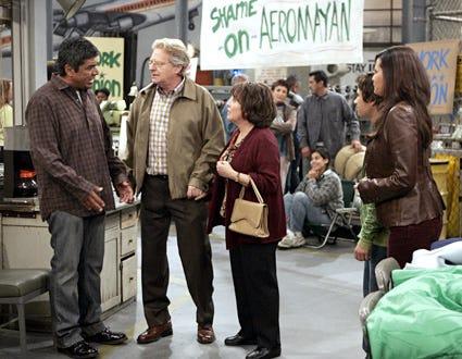 "George Lopez - ""George Decides to Sta-Local Where It's Familia"" - George Lopez, Jerry Springer, Belita Moreno, Luis Armand Garcia, Constance Marie"