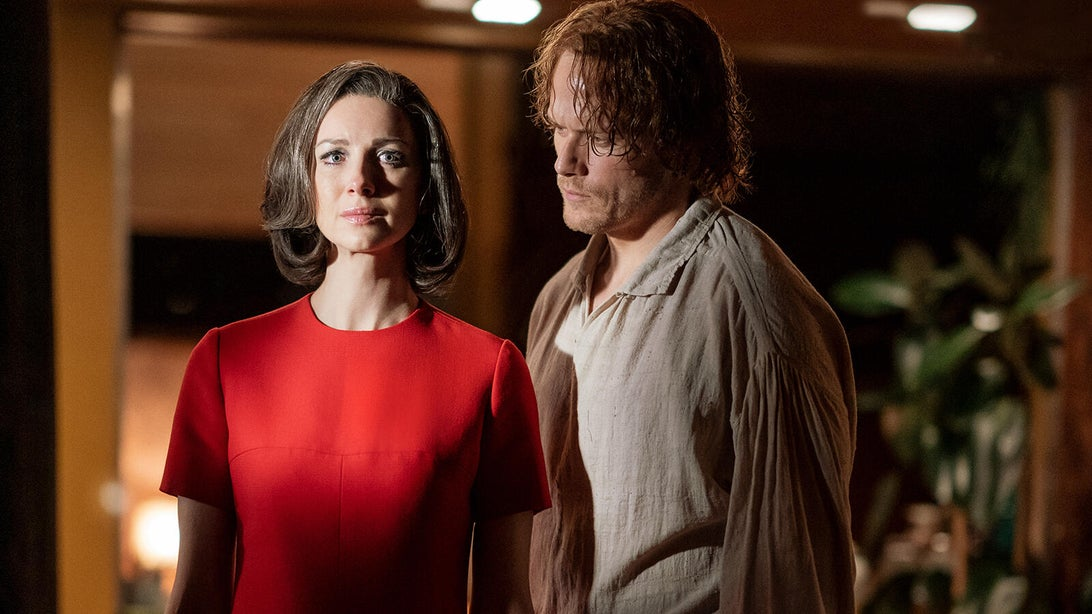 Caitriona Balfe and Sam Heughan, Outlander
