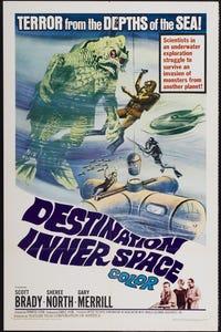 Destination Inner Space as Dr. Rene Peron
