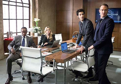"House of Lies - Season 2 - ""Damonschildren.org"" - Don Cheadle, Kristen Bell, Ben Schwartz and Josh Lawson"