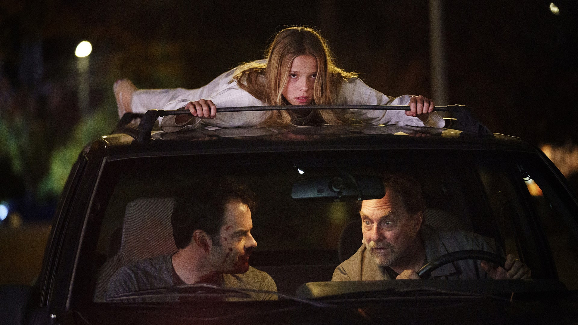Jessi Giacomazzi, Bill Hader, and Stephen Root, Barry