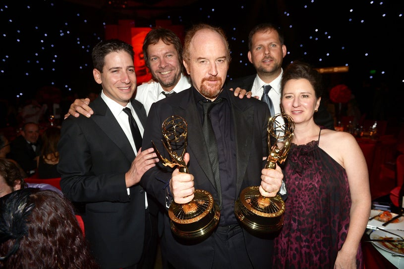 Louis CK and guests - 64th Annual Primtime Emmy Awards Govenors Ball in Los Angeles, September 23, 2012