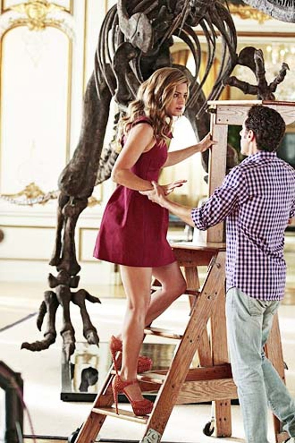 "Royal Pains - Season 5 - ""Bones to Pick"" - Brooke D'Orsay and Paulo Costanzo"