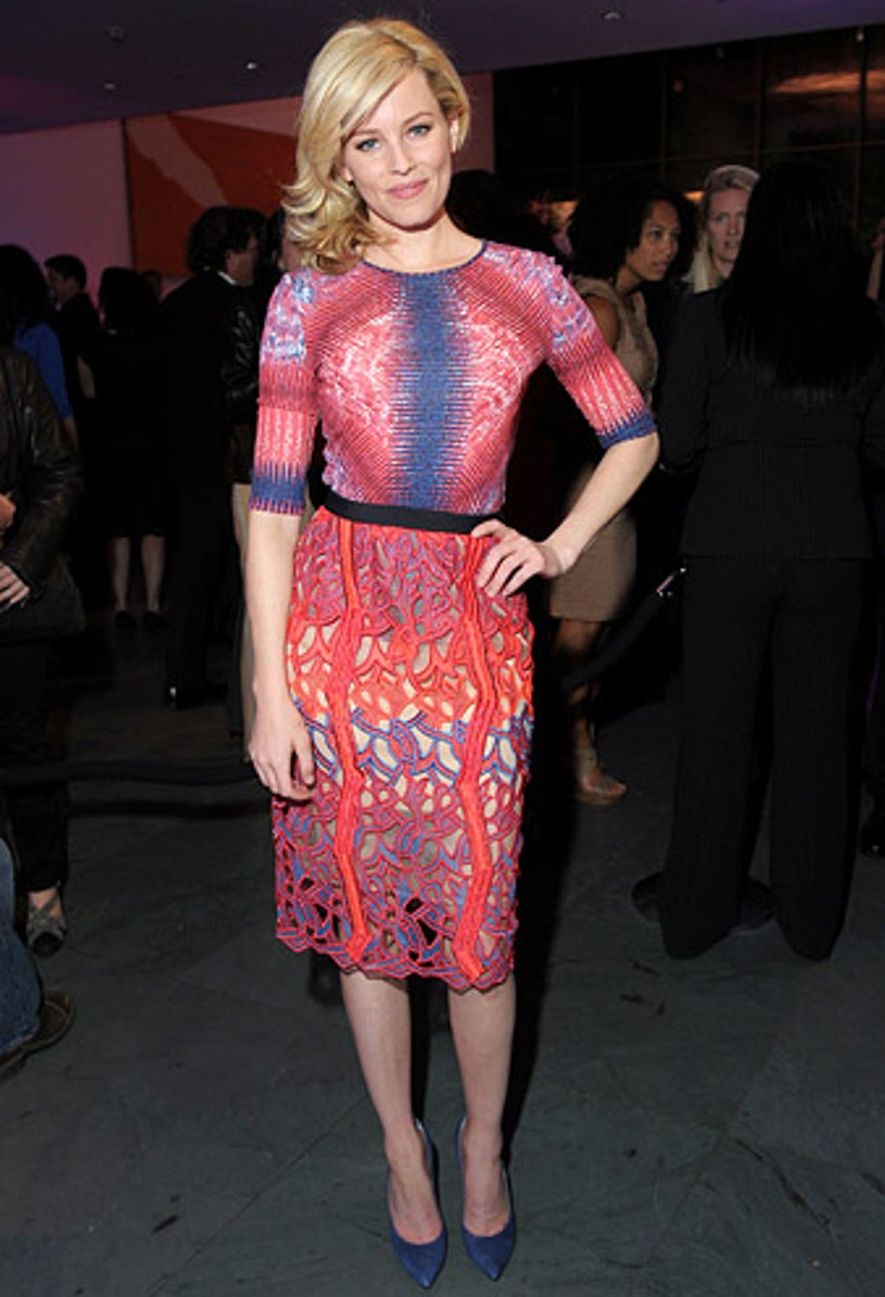 """Elizabeth Banks - """"The Five Year Engagement"""" premiere in New York City, April 18, 2012"""