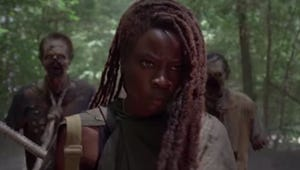 The Walking Dead's Michonne Goes Old School in the Trailer for Danai Gurira's Last Episode