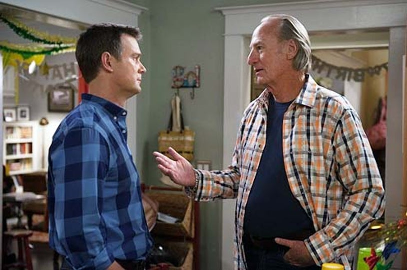 "Parenthood - Season 6 - ""Happy Birthday, Zeek"" - Peter Krause and Craig T. Nelson"