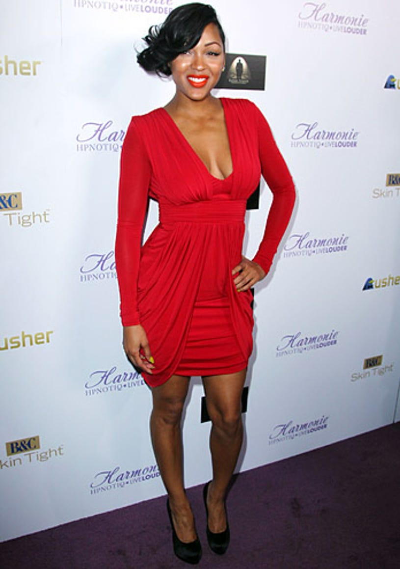 """Meagan Good - The """"Dysfunctional Friends"""" Los Angeles premiere hosted by HYPNOTIQ Harmonie, February 1, 2012"""