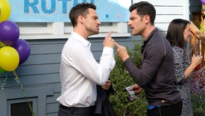 Like Us, Nick Is Grossed Out By Schmidt's Icky Mustache in This New Girl Exclusive