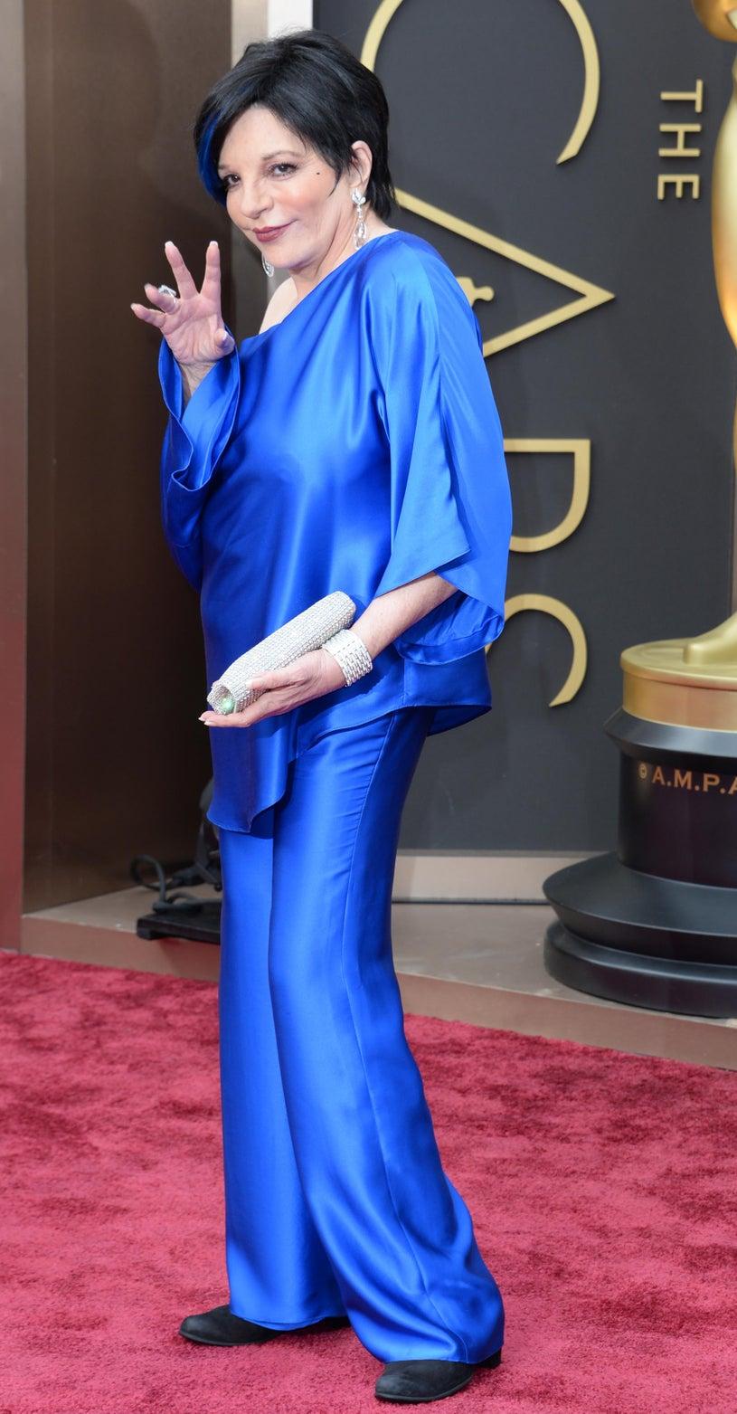 Liza Minnelli - 86th Annual Academ Awards in Hollywood, California, March 2, 2014