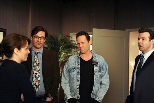 """30 Rock - Season 4 - """"Anna Howard Shaw Day"""" - Tina Fey, Jon Hamm, Dean Winters and Jason Sudeikis"""