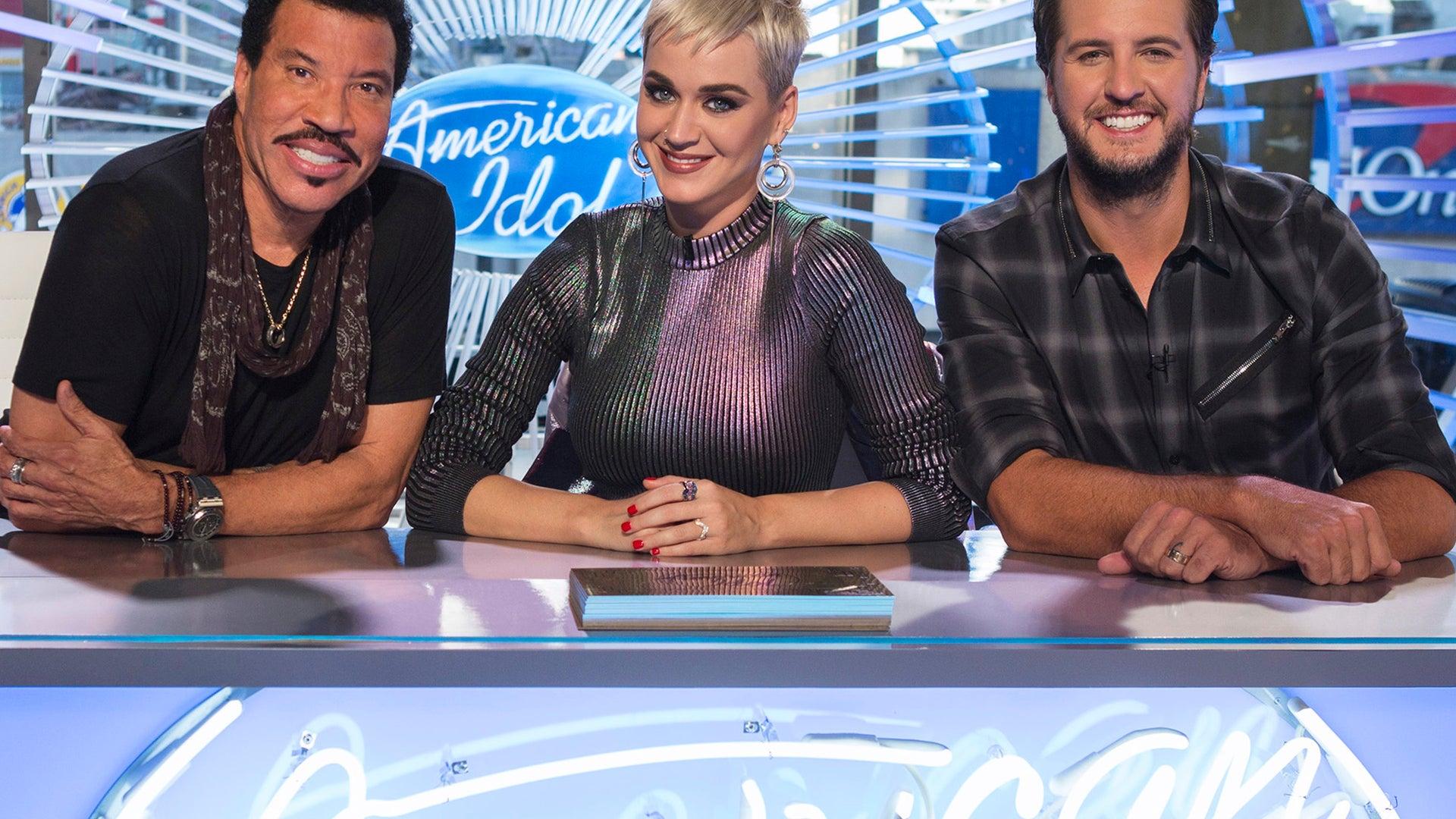 Lionel Richie, Katy Perry, Luke Bryan, American Idol