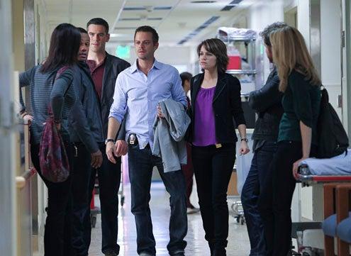 "CSI: NY - Season 8 - ""Near Death"" - Sela Ward, Hill Harper, Eddie Cahill, Carmine Giovinazzo, Anna Belknap, AJ Buckley, Megan Dodds"