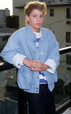 Corey Haim - Le Mondrian restaurant, Hollywood, January 18, 1987