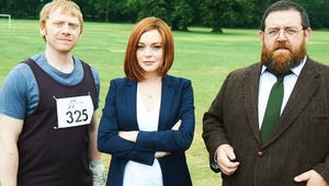 Lindsay Lohan Joins Rupert Grint and Nick Frost in British Series Sick Note