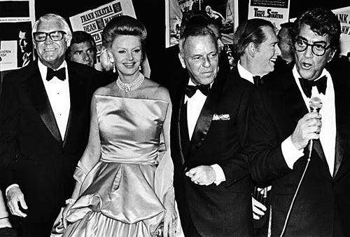 Cary Grant, Dina Merrill, Frank Sinatra, Milton Berle, Dean Martin -  Las Vegas, Nevada - 1979