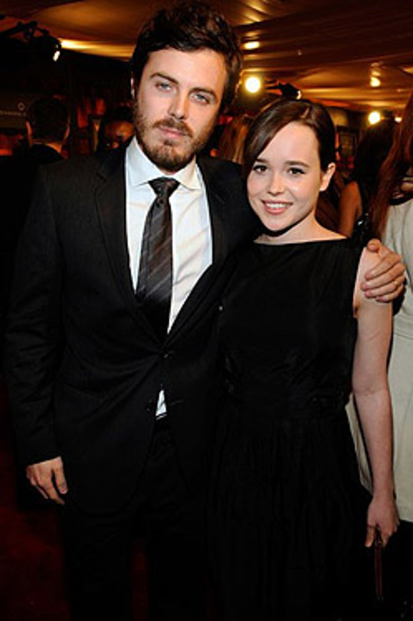 Casey Affleck and Ellen Page - 13th Annual Critics' Choice Awards, January 7, 2008