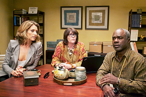 "House of Lies - Season 1 - ""Our Descent Into Los Angeles"" - Dawn Olivieri, Mo Gaffney and Glynn Turman"