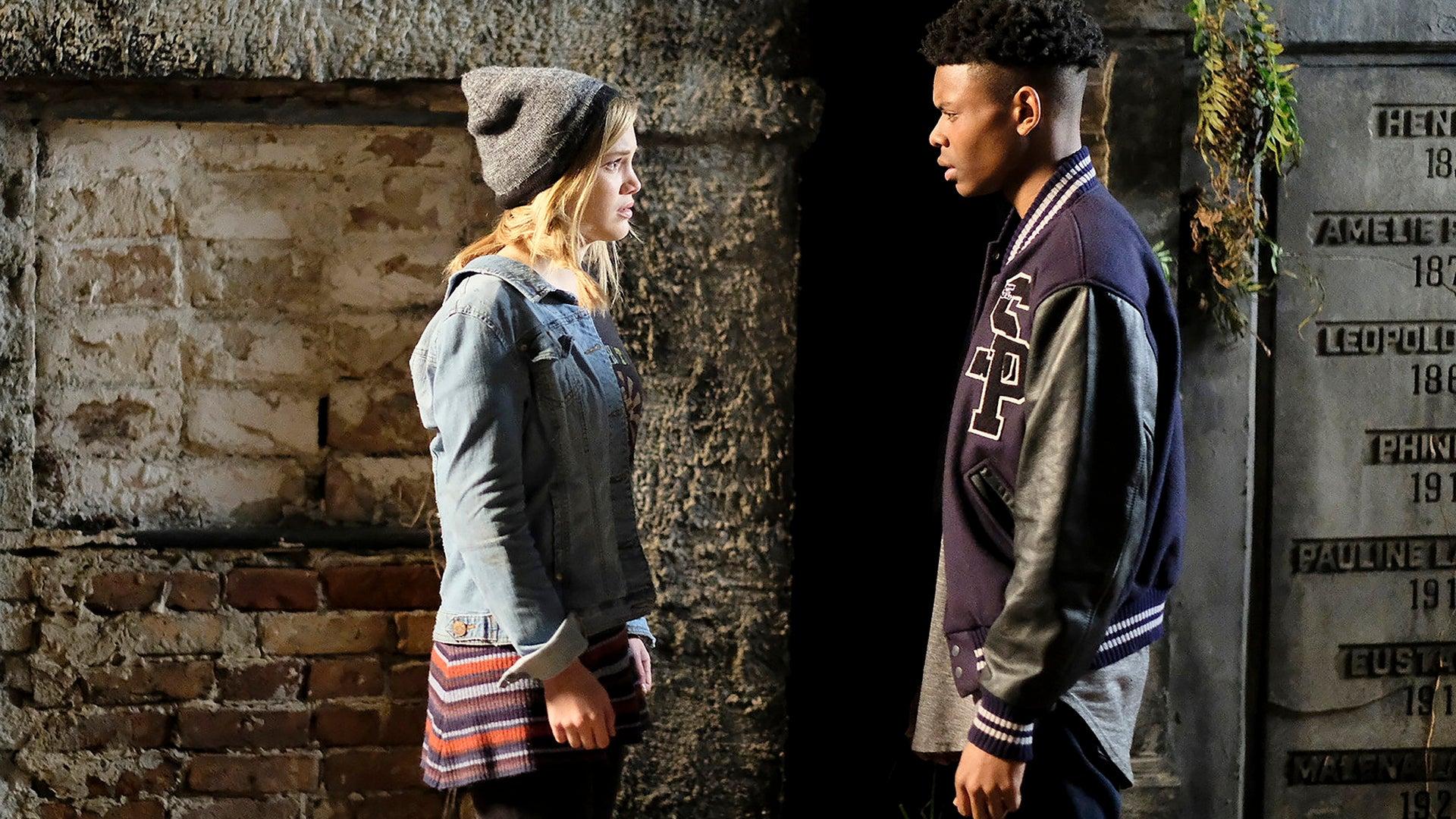 Olivia Holt and Aubrey Joseph, Marvel's Cloak & Dagger