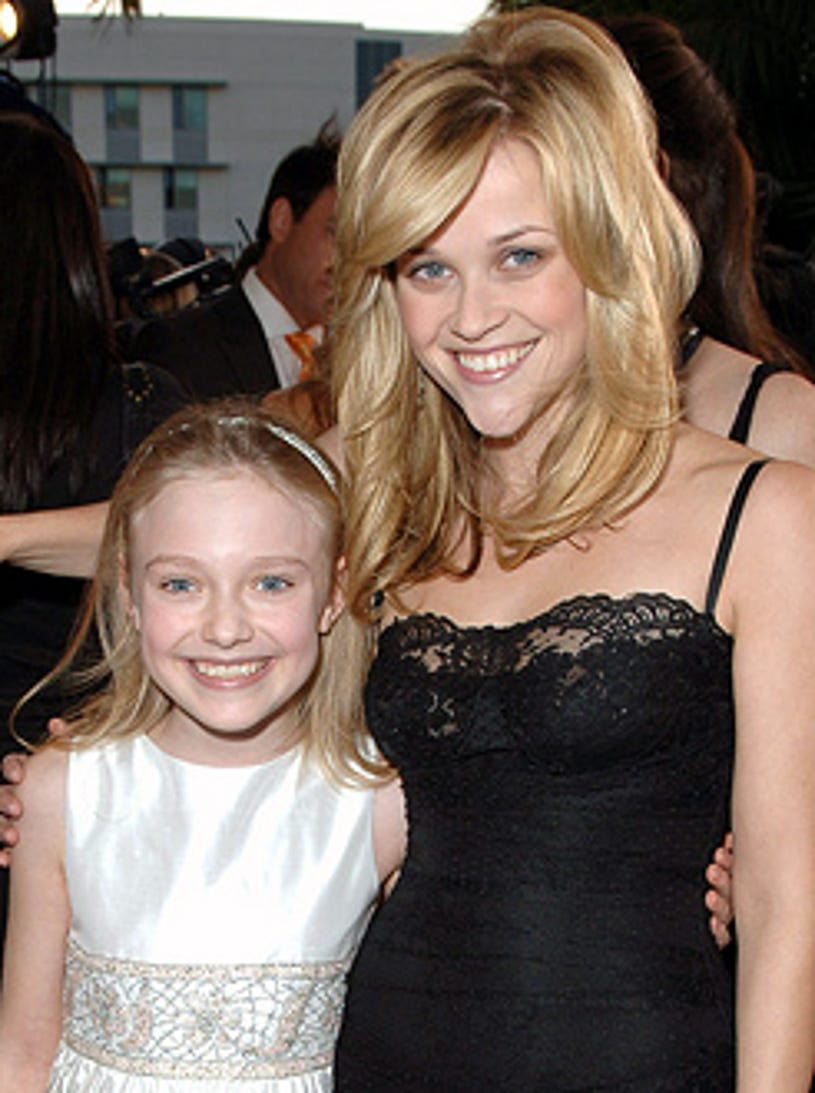 Dakota Fanning and Reese Witherspoon - 11th Annual Critics' Choice Awards