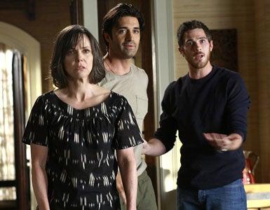 "Brothers & Sisters - Season 4 - ""Last Tango in Pasadena"" - Sally Field, Gilles Marini and Dave Annable"