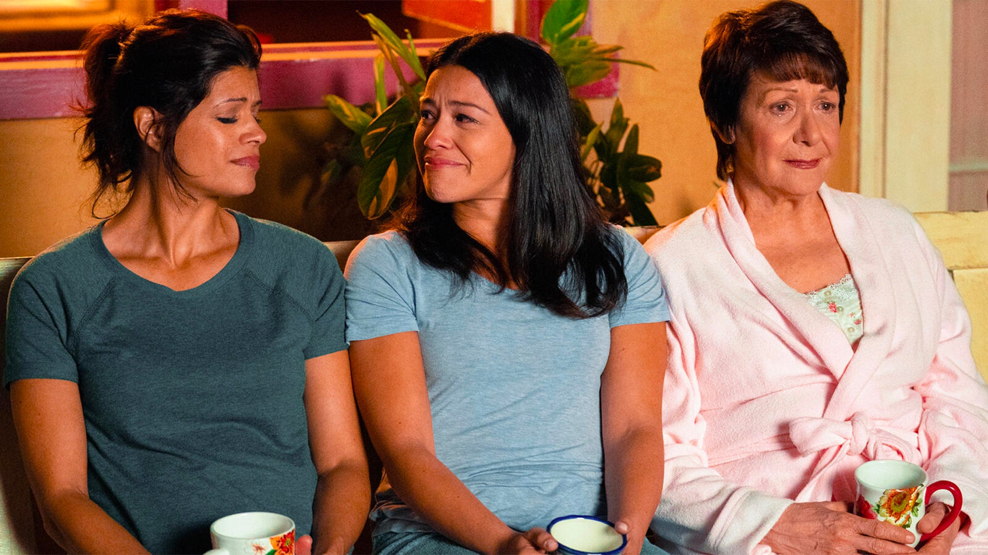 Andrea Navedo, Gina Rodriguez, and Ivonne Coll, Jane the Virgin