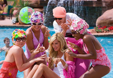 High School Musical 2 - Kelli Baker, Mccall Clark, Lucas Grabeel, Tanya Michelle and Ashley Tisdale