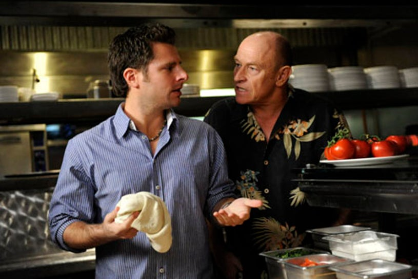 "Psych - Season 4 - ""Think Tank"" - James Roday and Corbin Bernsen"