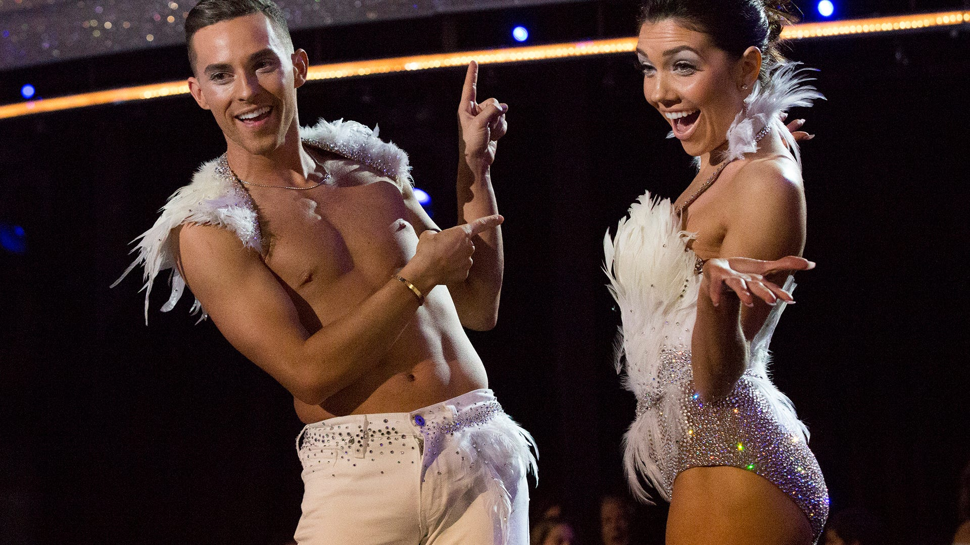 Adam Rippon and Jenna Johnson, Dancing with the Stars