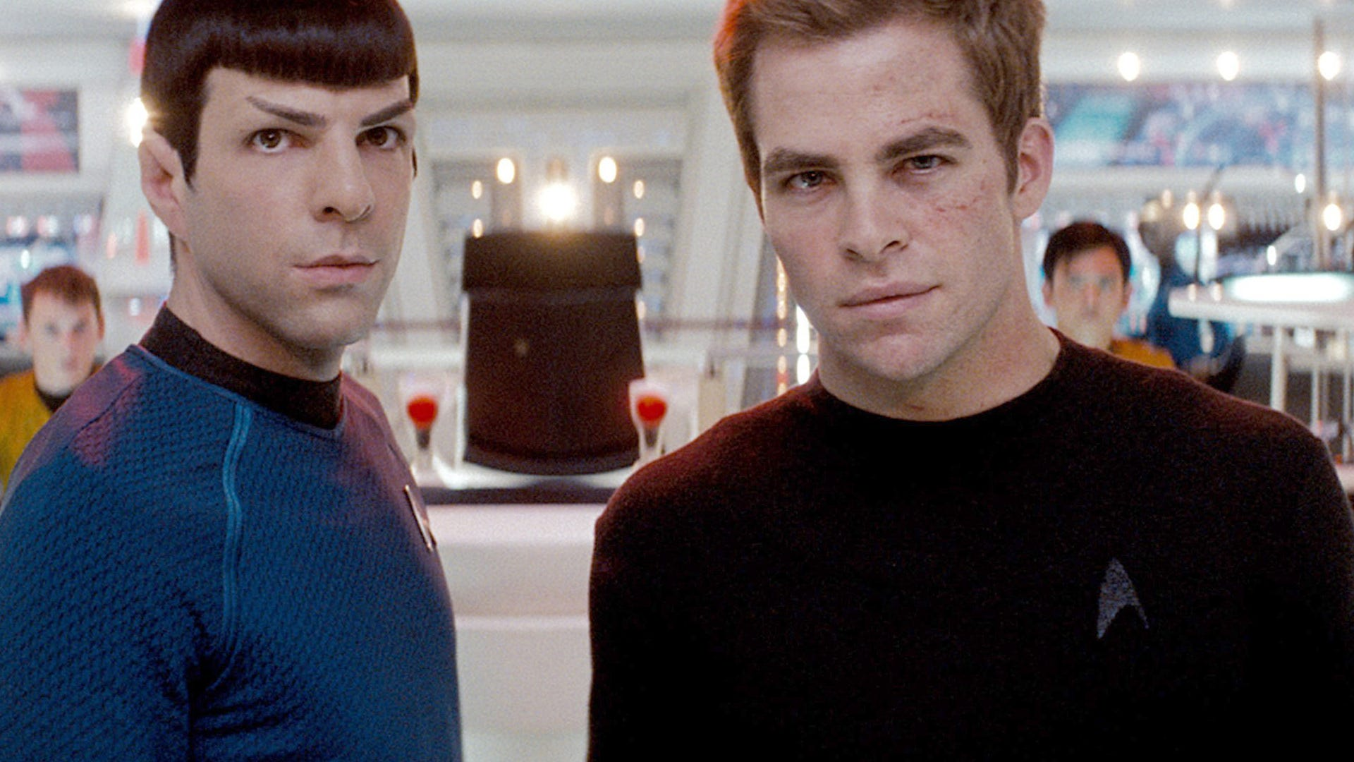 Zachary Quinto, Chris Pine; Star Trek
