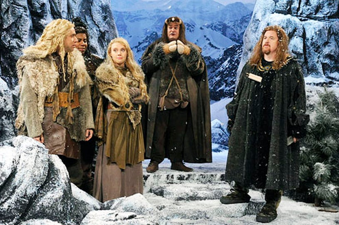 "Saturday Night Live - Season 38 - ""Louis C.K."" - Fred Armisen, Keenan Thompson, Kate McKinnon, Bobby Moynihan and Louis C.K."