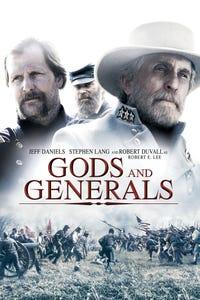 Gods and Generals as Gen. Thomas `Stonewall' Jackson