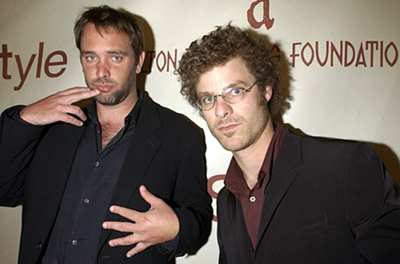 Matt Stone and Trey Parker - The 10th Annual Elton John AIDS Foundation InStyle Party - March 2002