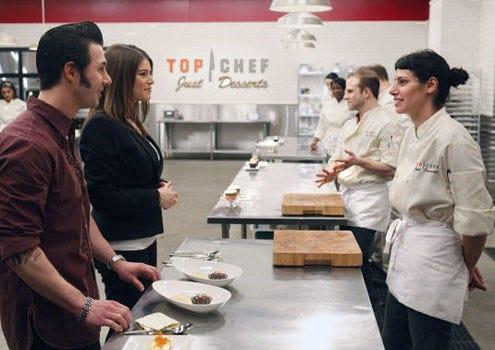 Top Chef: Just Desserts - Season 1 - Johnny Iuzzini, Gail Simmons and Tania